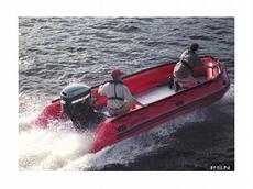 Mercury 530 Heavy-Duty Red (Hypalon) Boat specs and Mercury